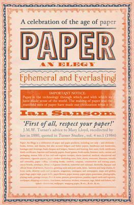 Paper: An Elegy EPUB