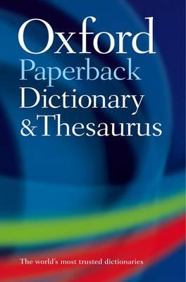 Paperback Oxford Dictionary and Thesaurus