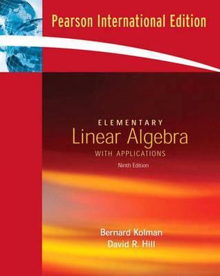 Kolman algebra pdf linear edition elementary 9th