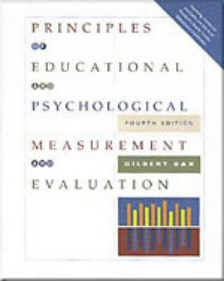 Principles Of Educational And Psychological Measurement And