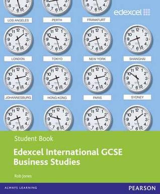 edexcel igcse business studies student book by rob jones