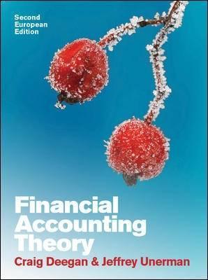 Financial accounting theory by craig deegan financial accounting theory fandeluxe Choice Image