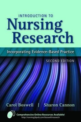 Introduction to nursing research incorporating evidence based 7481563 fandeluxe Image collections