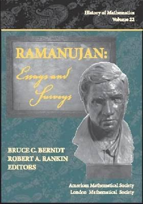 ramanujan essays and surveys by srinivasa ramanujan 49684