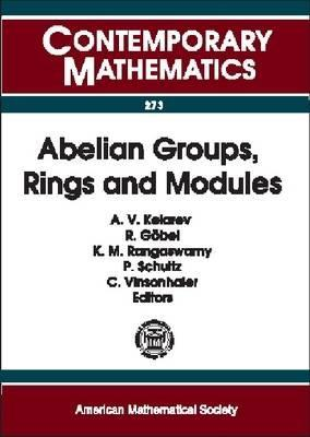 Abelian Groups, Rings and Modules