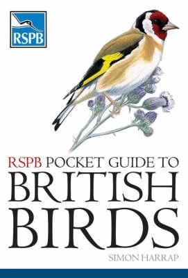 RSPB Pocket Guide To British Birds By Simon Harrap
