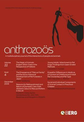 Anthrozoos Volume 22 Issue 4: A Multidisciplinary Journal of the Interactions of People and Animals