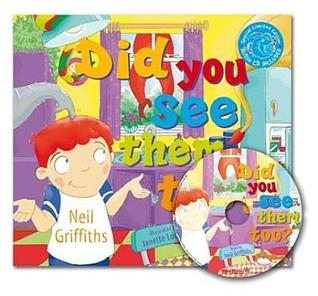 Did You See Them Too?: Rhyming Story with Audio CD Included