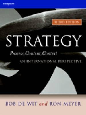 strategy process content context an international perspective thomson learning Stay ahead with the world's most comprehensive technology and business learning platform with safari, you learn the way you learn best get unlimited access to videos, live online training, learning paths, books, tutorials, and more.