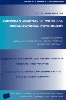 Bullying in the Workplace: Recent Trends in Research and Practice
