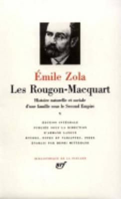 Les Rougon-Macquart Tome V: L'Argent; La Débâcle; Le Docteur Pascal
