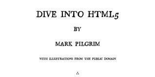 Dive Into HTML5
