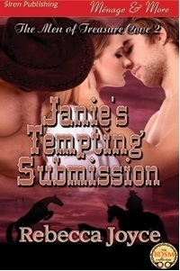 Janie's Tempting Submission (The Men of Treasure, #2)
