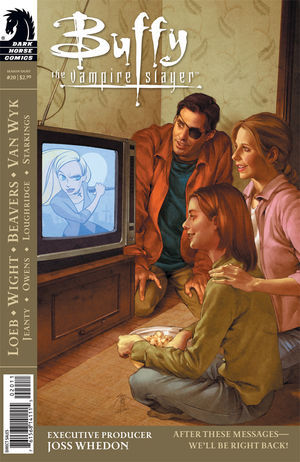 Buffy the Vampire Slayer: After These Messages... We'll be right back! (Season 8, #20)