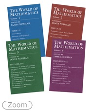 The World of Mathematics: A Four-Volume Set