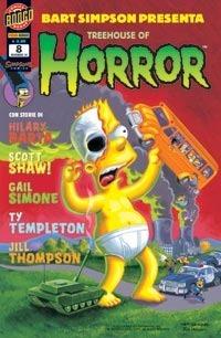 Bart Simpson presenta Treehouse of Horror, n. 8