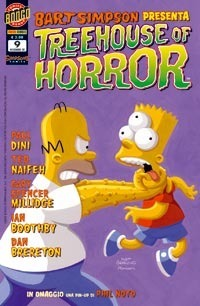 Bart Simpson presenta Treehouse of Horror, n. 9