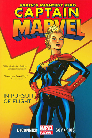 captain marvel goodreads