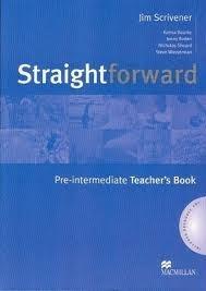 Straightforward pre intermediate teachers book by jim scrivener straightforward pre intermediate teachers book fandeluxe Choice Image
