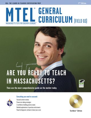 Mass. MTEL General Curriculum with CD