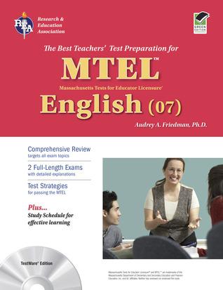 MA MTEL English W/CD