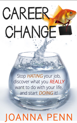 career change stop hating your job discover what you really want to do with your life and start doing it by joanna penn - Why Do You Want To Change Your Job