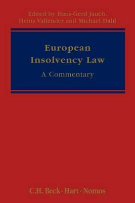 European Insolvency Law: A Commentary