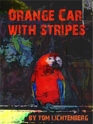 Orange Car With Stripes by Tom Lichtenberg