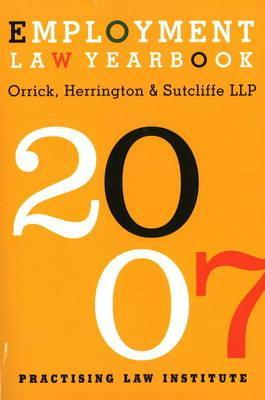Employment Law Yearbook 2007