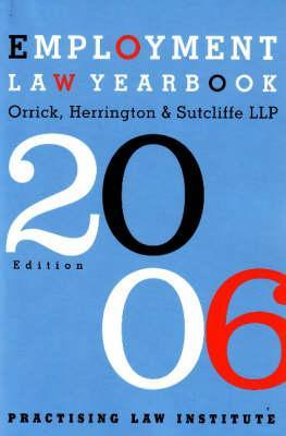 Employment Law Yearbook 2006
