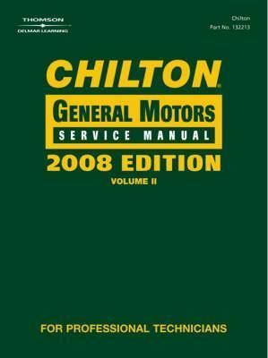 Chilton General Motors Service Manual