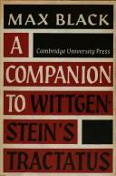 A Companion to Wittgenstein's 'Tractatus'