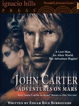 John Carter: Adventures on Mars (Barsoom #1-5)