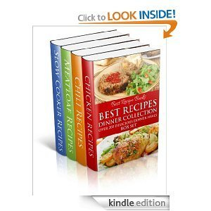 Best Recipes Dinner Collection - Chicken, Chili, Meatloaf, Slow Cooker (Best Recipes 4 Cookbook Box Set)