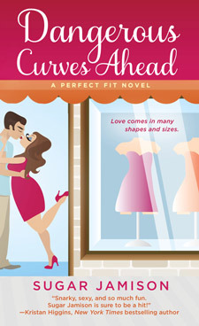 Cover of Dangerous Curves Ahead by Sugar Jamison