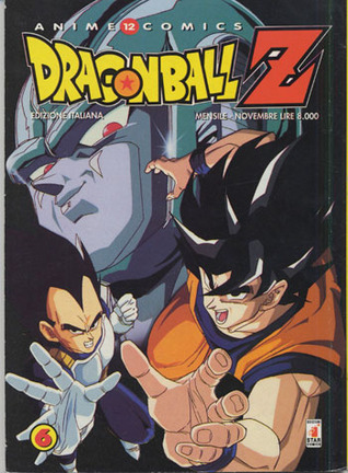 Dragon Ball Z Anime Comics, Vol. 6