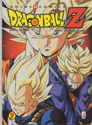 Dragon Ball Z Anime Comics, Vol. 7