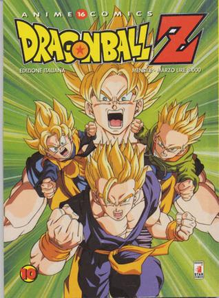 Dragon Ball Z Anime Comics, Vol. 10