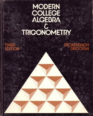 Modern College Algebra And Trigonometry