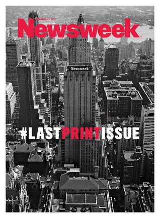 Newsweek #Last Print Issue