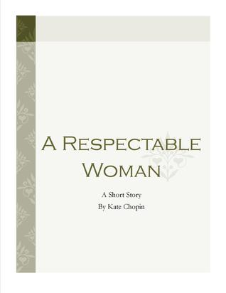 A Respectable Woman