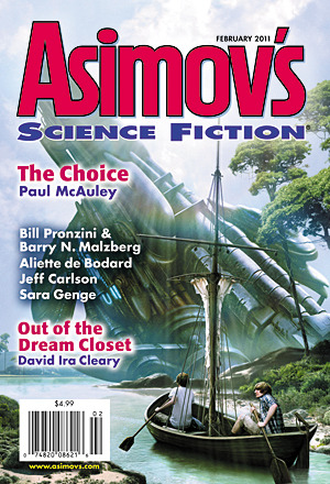 Asimov's Science Fiction, February 2011 (Asimov's Science Fiction, #421)