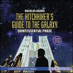 The Hitchhiker s Guide to the Galaxy Quintessential Phase Hitchhiker s Guide Radio Play