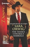 The Texan's Contract Marriage by Sara Orwig