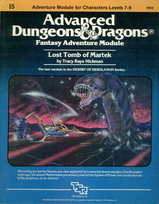 Lost Tomb of Martek by Tracy Hickman