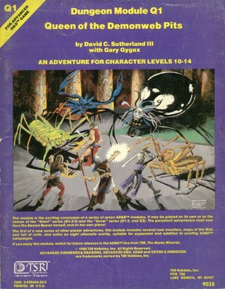 Queen of the Demonweb Pits (Advanced Dungeons & Dragons module Q1)