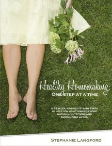 Healthy Homemaking by Stephanie Langford