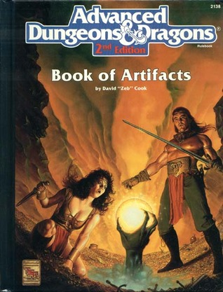 Book of Artifacts by David Zeb Cook