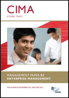 BPP CIMA E2 Study Text - Enterprise Management