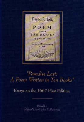 paradise lost a poem written in ten books essays on the  2371603